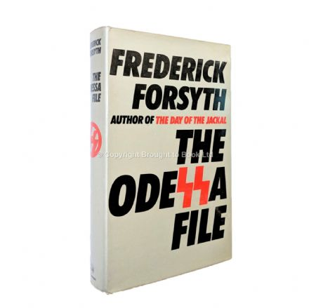 The Odessa File Signed by Frederick Forsyth First Edition Hutchinson 1972